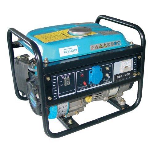 Güde 40639 Stromerzeuger GSE 1200 4T, 850/950W 1 Zylinder/4-Takt-Motor 1,75 kW/2,4 PS -