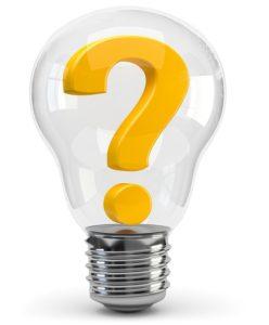 kleiner Generator Fragezeichen