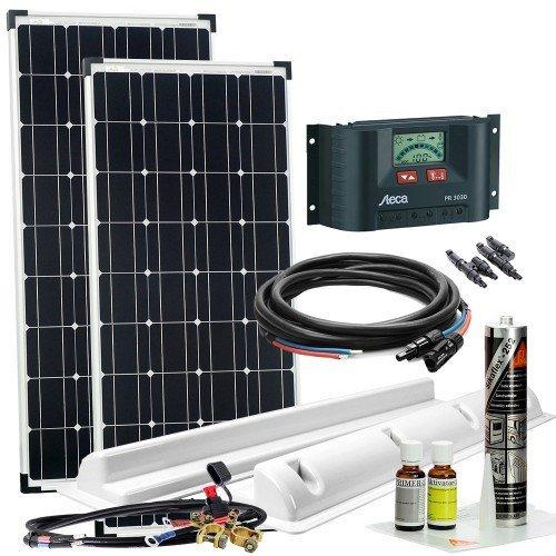 Solaranlage für Wohnmobile